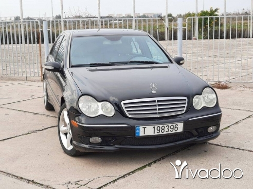 Mercedes-Benz in Tripoli - Mercedes C230 - 2005