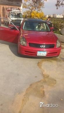 Infiniti in Bakhoun - سيارة انفينتي موديل ٢٠٠٣