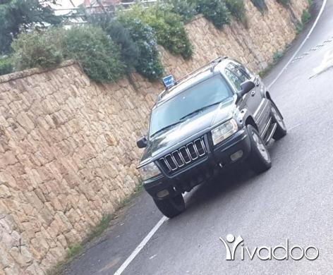 Jeep in Beirut City - Grand cheroke