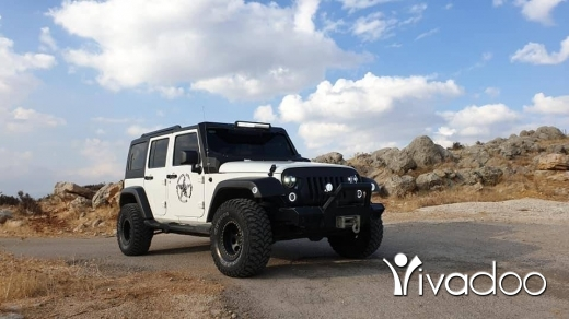 Jeep in Beirut City - Jeep Wrangler Unlimited Edition ( Mint )