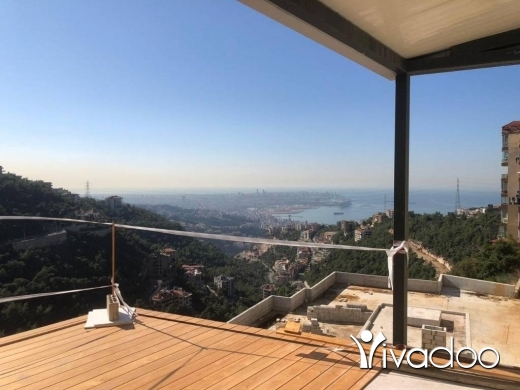 Apartments in Biyada - A 385 m2 duplex apartment with a private  garden having an open mountain/sea view for sale in Biyada