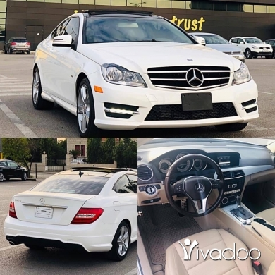 Mercedes-Benz in Beirut City - Mercedes C250 2013 ajnabiye full options like new for inf: 71010821