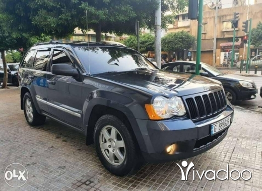 Jeep in Beirut City - Grand cherokee V6 / 4WD / 2010 الجيب كتير نظيف
