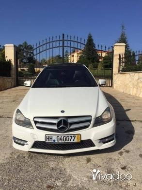Mercedes-Benz in Beirut City - C250 2012 coupe ajnbiye