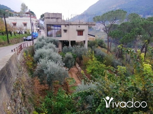 Apartments in Chourite - L07413 Triplex Individual House with Land for Sale in Kfarhay-Chouf with Mountain View