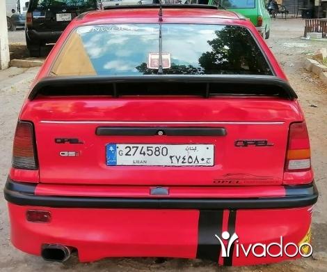 Opel in Tripoli - اوبل كديت موديل 88