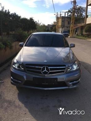Mercedes-Benz in Minieh - W 204 c250 2013