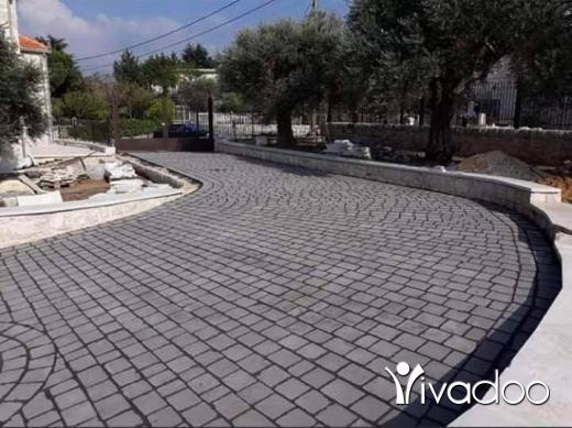 DIY Tools & Materials in Beirut City - حجر بازلت اسود بركاني للبيع