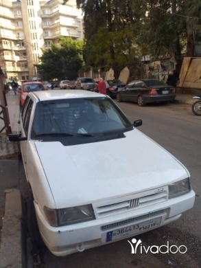Fiat in Tripoli - سياره فيات مودل ٩٣