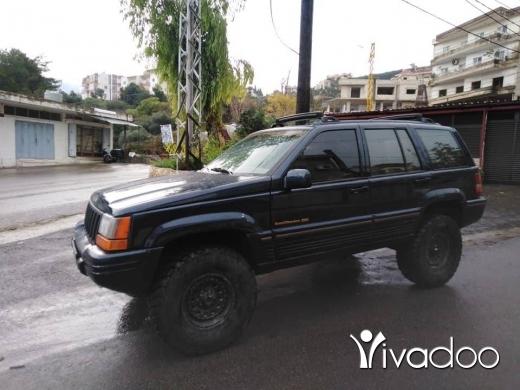 Jeep in Zgharta - Grand 93 super khari2