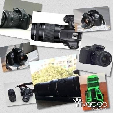 Cameras, Camcorders & Studio Equipment in Tripoli - Canon 1300D