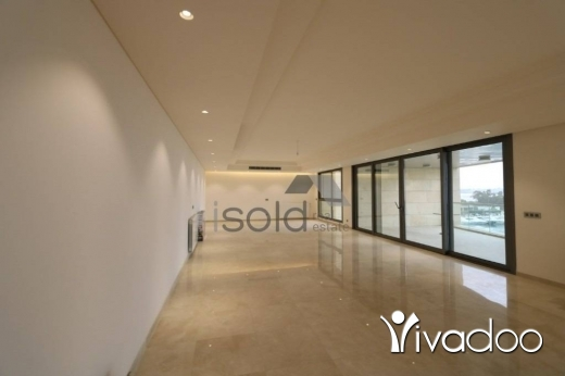 Apartments in Dbayeh - A 750 m2 apartment having an open sea view for rent in Dbaye