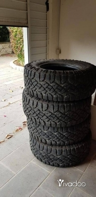 Motorbike Parts & Accessories in Beirut City - Goodyear Duratrac 35 12.5 R17