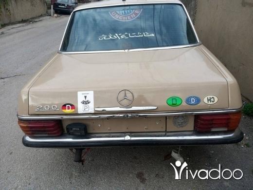 Mercedes-Benz in Minieh - مرسيدس قطش 200