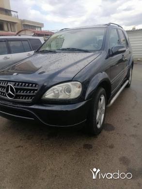 Mercedes-Benz in Tripoli - ML model 2001 look AMG