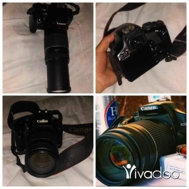 Cameras, Camcorders & Studio Equipment in Akkar el-Atika - canon 450d lens 375