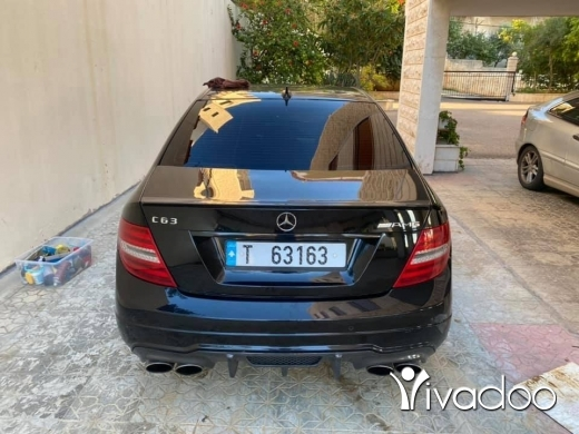 Mercedes-Benz in Beirut City - C63 amg 2014 for sale