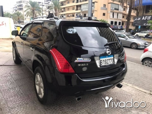 Nissan in Beirut City - Nissan murano 2006 مصدر شركة ياباني ☎️☎️