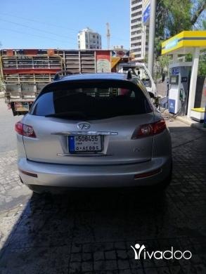 Infiniti in Beirut City - infinity fx 35