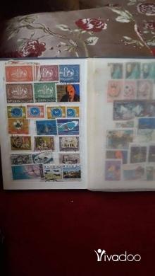 Music, Films, Books & Games in Hoch el-Harimeh - مجلدين طوابع اميرية نادرة لا تقدر بثمن