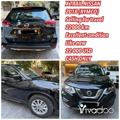 Nissan in Beirut City - Nissan X trail excellent condition_selling for travel