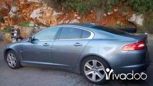 Jaguar in Beirut City - JAGUAR XF 2009 V8