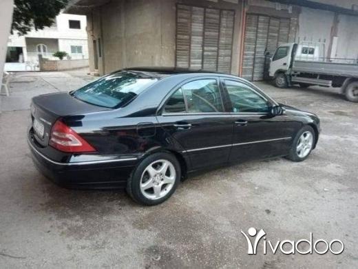 Mercedes-Benz in Tripoli - c 200 kompraser