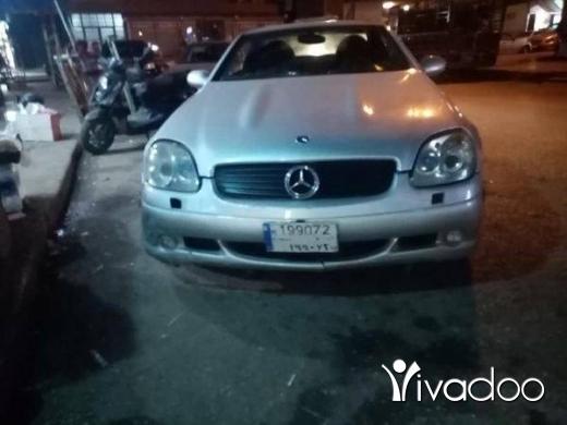 Mercedes-Benz in Tripoli - Slk 230 sport