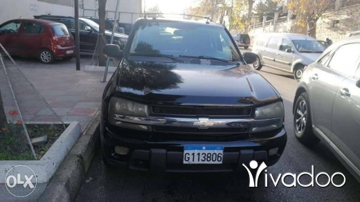 Chevrolet in Beirut City - Chevrolet trailblazer 2005 black on black mecanique 2020 paid