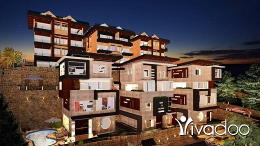 Apartments in Blat - L04010 Duplex Apartment For Sale In Blat _Jbeil In A Gated Community