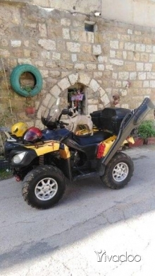 Motorbikes & Scooters in Bhamdoun - Atv 750cc denly 4*4 mod. 2009 ma3o wre2o wfull opinions