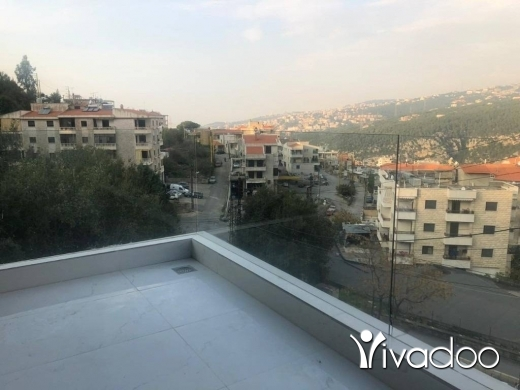 Apartments in Freikeh - A 150 m2 apartment having an open mountain view for sale in Kornet El Hamra / Fraike