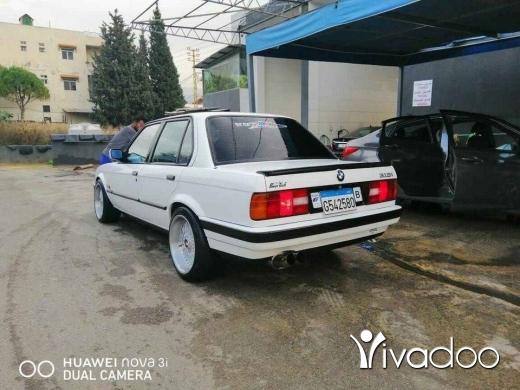BMW in Tripoli - E30 moldel 90 316 madfou3 l2020 siara ktir ndif w 7elweh lsiara mkalfeh ktir w mashgouleh 3al zo2