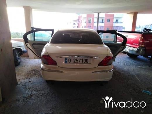 Jaguar in Beirut City - Jaguar x type 2002