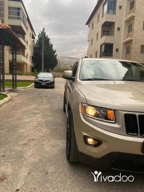 Jeep in Beirut City - Grand Cherokee Limited Edition 2014