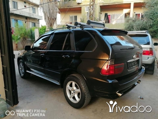 BMW in Tripoli - X5 model 2003