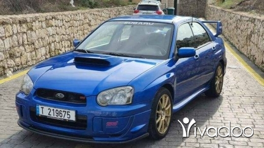 Subaru in Keftine - #subaru impreza STI 2004