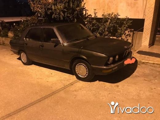 BMW in Barja - #for sale Bmw 525 model 83 #٧٣للبيع بي أم موديل سعرها١٠٠٠$ مسجلة خالصة موجودة ببرجا للتواصل 0355723