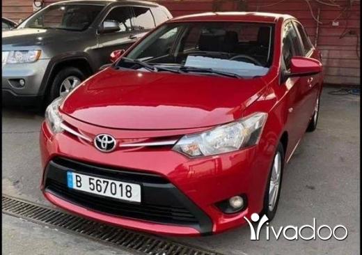 Toyota in Tripoli - Toyota Yaris model 2015