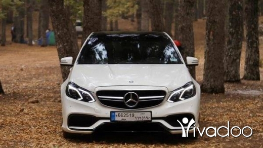 Mercedes-Benz in Tripoli - Mercedes-Benz e350 2012 look 2015