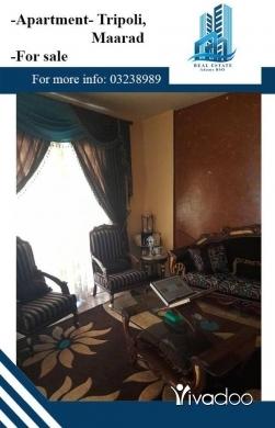 Apartments in Beirut City - شقة للبيع في طرابلس المعرض خلف صيدلية مايا ,