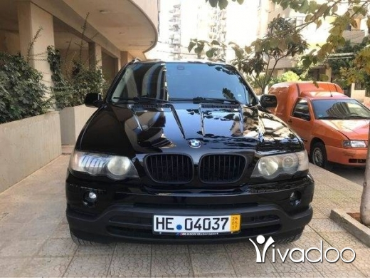 BMW in Tripoli - BMW X5 2001