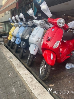 Motorbikes & Scooters in Beirut City - Vespa vxl 150cc 2021 warranty 2 years