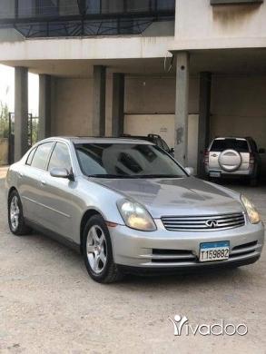 Infiniti in Tripoli - infnity car 3.5