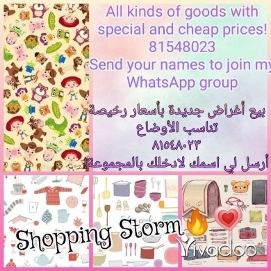 Goods Suppliers & Retailers in Aley - Shopping Storm