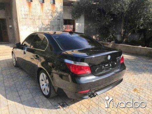 BMW in Hermel - E60 موديل ٢٠٠٥