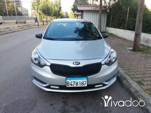 Kia in Beirut City - كيا سيراتو موديل 2016
