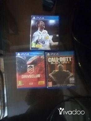 Video Games & Consoles in Deir Kanoun - fifa 18 _Drive club _call of duty black ops 3