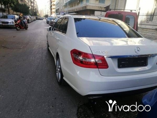 Mercedes-Benz in Tripoli - Mercedes Benz E350