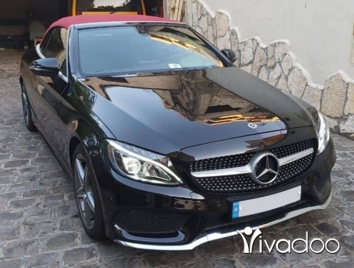 Mercedes-Benz in Beirut City - Mercedes-Benz c180 2018 cabriolet amg Germany source clean title